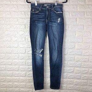 KANCAN Womens Distressed  ESTILO Skinny Jeans